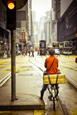 """or the award-winning Commute Score app, developers """"created a way to track a commute on a smartphone and then identify the transit signature (walk, bike, bus, train or car) of the commuter."""" (Photo credit: Flickr user Ding Yuin Shan)"""