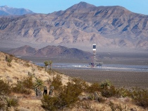 The huge Ivanpah solar plant in the Mojave Desert is part of a push to expand renewable energy on U.S. federal land. (Photo credit: Flickr user craigdietrich)